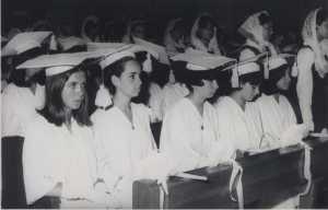 Ceremonia de Graduación 1960-1970
